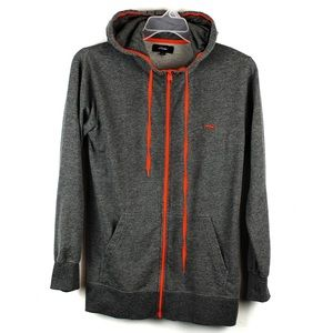 KR3W gray hoodie